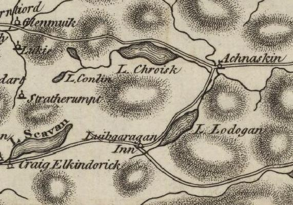 Ainslie Map 1789
